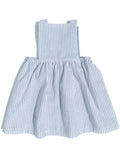 Pinafore Dress in Prairie Sky