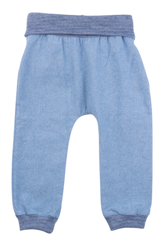 Jogger Pant in Light Chambray