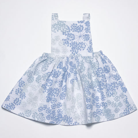 Pinafore Dress in Dandelion Crowns