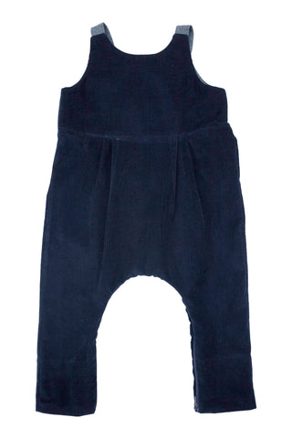 Playtime Overall in Navy Corduroy