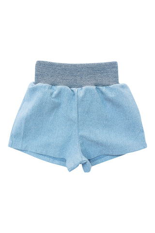 Everyday Short in Light Chambray