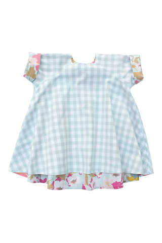 Reversible Swing Tunic in Vintage Garden