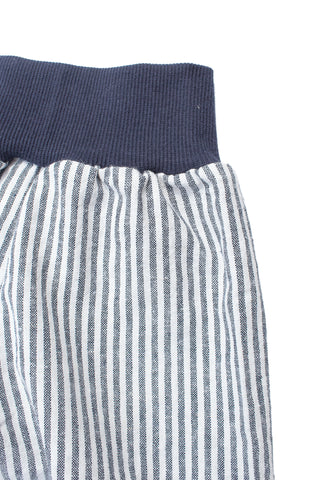 Easy Short in Navy Stripe
