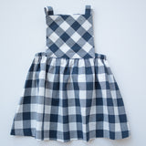 Pinafore Dress in Parade