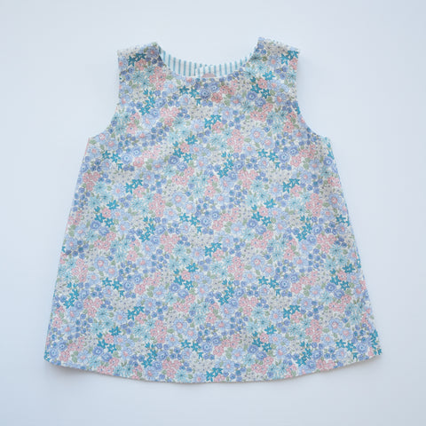 Reversible Tulip Tunic in Flower Girl