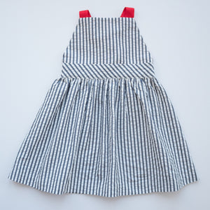 T-Back Dress in Yacht Club