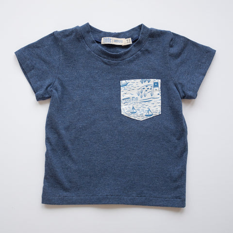 Pocket Tee in Sailing Lesson