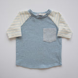 Raglan Tee in Spring Tea