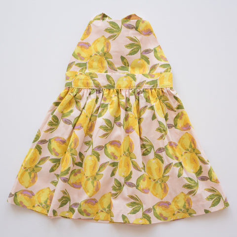 T-Back Dress in Lemonade Stand