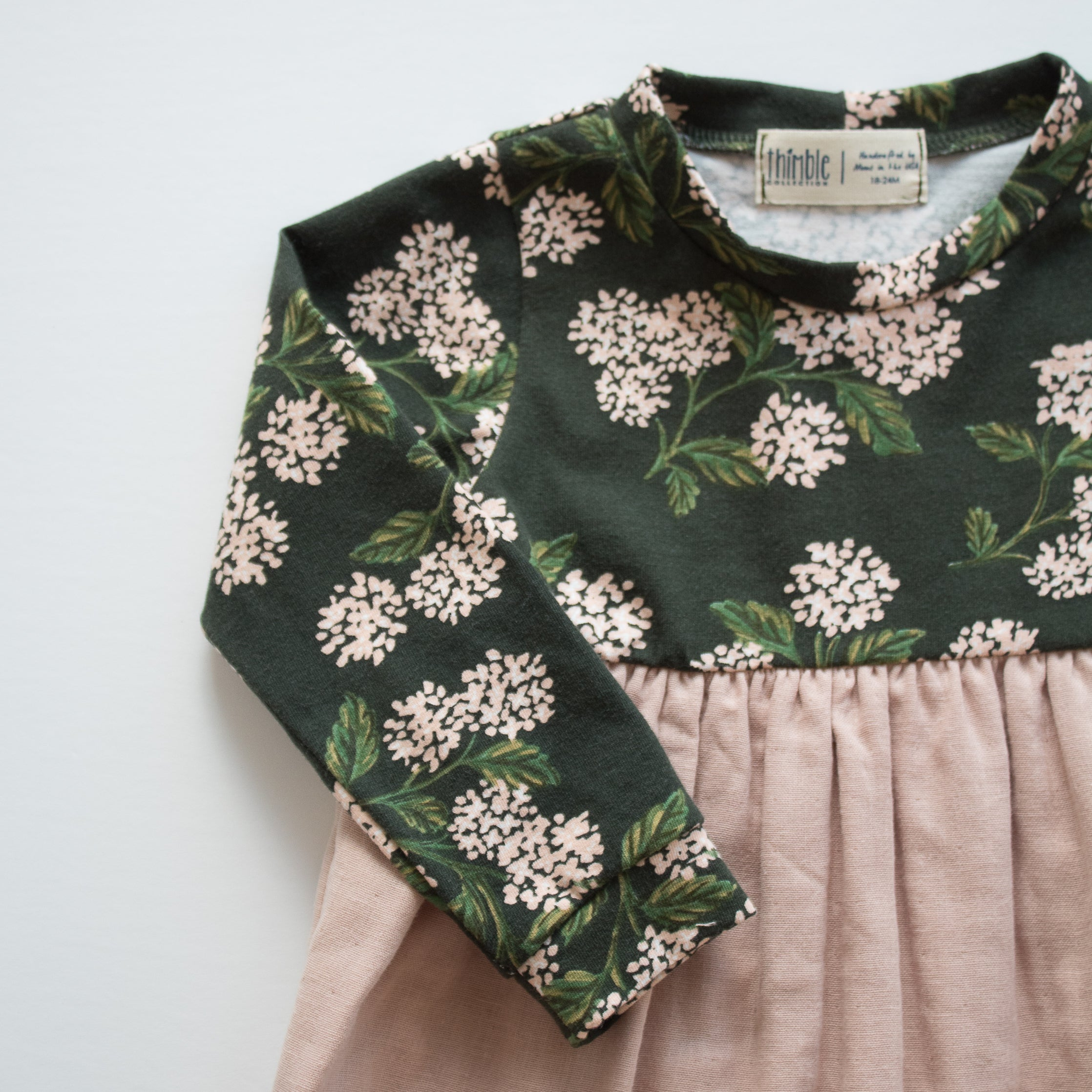 Playground Dress in Forest Blooms