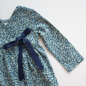 Wrap Dress in Blueberry