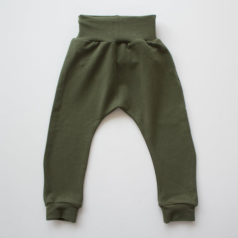 Jogger Pant in Moss Terry