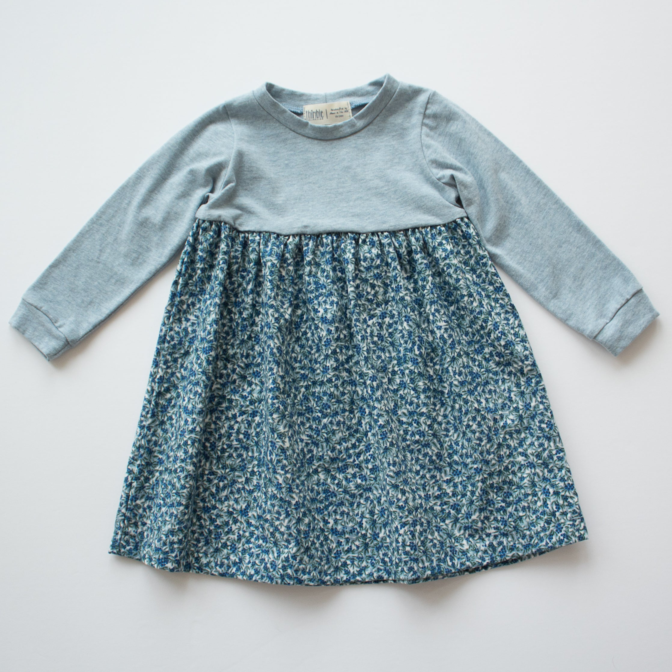 Playground Dress in Blueberry