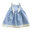 Reversible Isabel Playtime Dress in Yellow and Blue - Thimble - Dress - 4