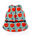 Charlotte Zipper Dress in Apple - Thimble - Dress - 4