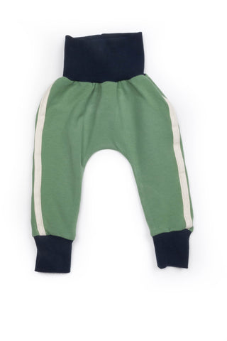 Riley Everyday Pant in Soft Green Terry - Thimble - Pants - 1