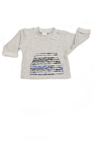 Taylor Pocket Sweatshirt in Hashmark - Thimble - Shirt - 1