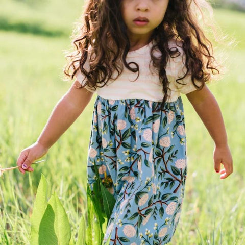 Playground Dress in Garden Party