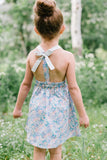 T-Back Dress in Flower Girl
