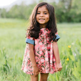 Reversible Swing Tunic in Garden Party