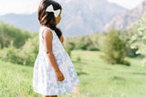 Weekend Dress in Dandelion Crowns