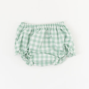 Flutter Bloomer in Pond Gingham