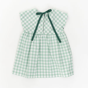 Essential Dress in Pond Gingham