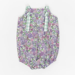 Knotted Romper in Wisteria