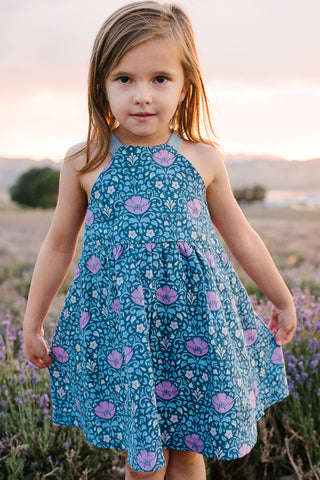 Sundress in Prairie Blooms