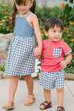 Everyday Short in Ocean Gingham