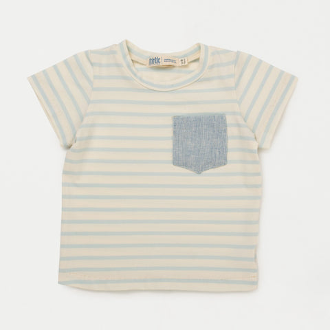 Pocket Tee in Spring Tea