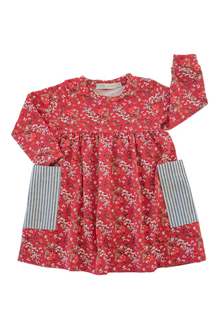 Playground Dress in Currant