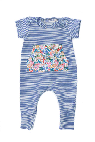 Everyday Romper in Brook Wildflowers