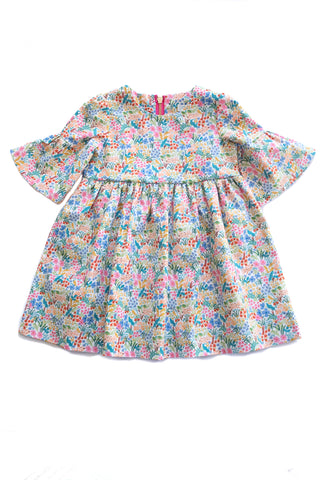 Party Dress in Summer Wildflowers