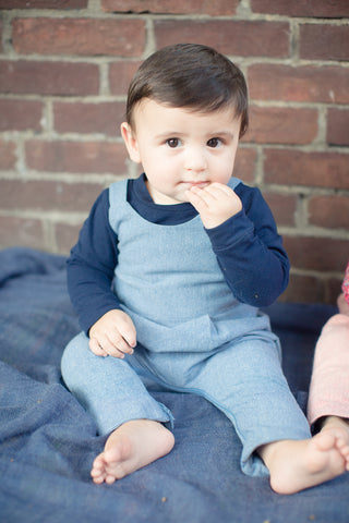 Playtime Overall in Light Chambray