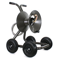 Eley Model 1043Q Four wheel wagon garden hose reel