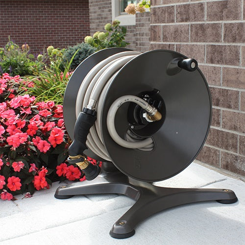 eley model 1042 free standing hose reel glamour