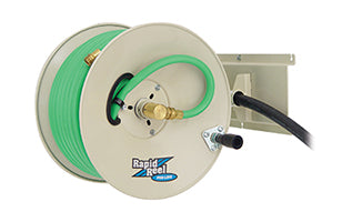 Rapid Reel Pro Line GH150-PD perpendicular wall mount garden hose reel