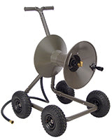 Rapid Reel model GH168-WG four wheel wagon garden hose reel