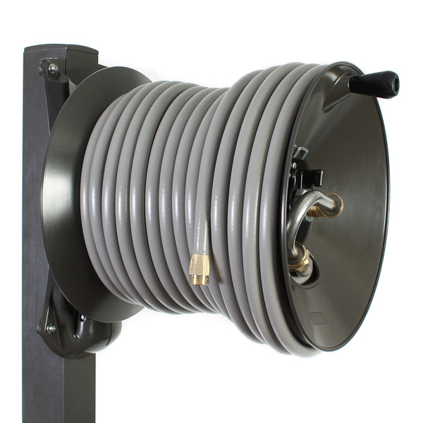 Captivating ... Aluminum Post Garden Hose Reels ...