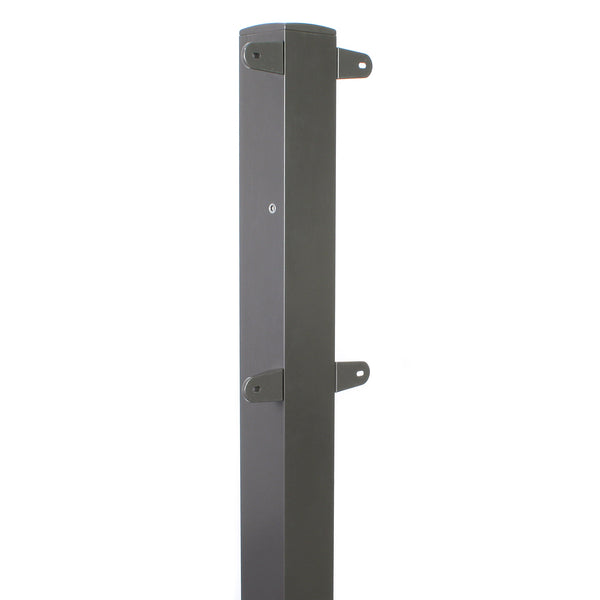 Eley powder-coated aluminum post for 1041 and 1041X wall mount reels