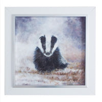 badger painting, andi lucas, gallerythane.com