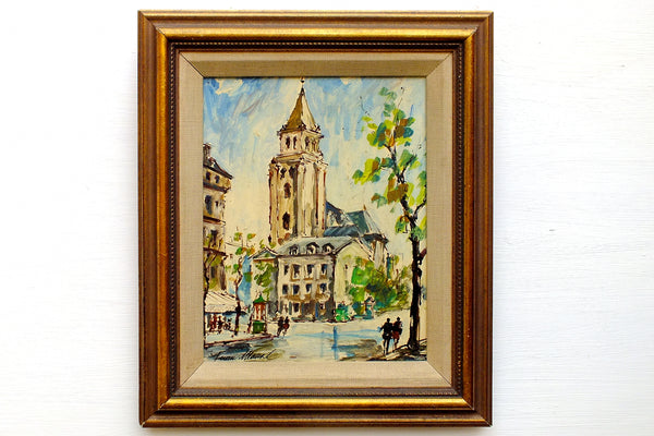 Architecture, Cityscape and Buildings Paintings