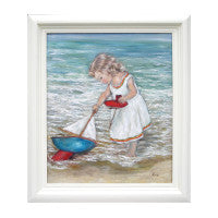 beach painting, andi lucas, gallerythane.com