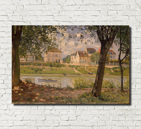 Alfred Sisley Fine Art Print River Impressionist Painting