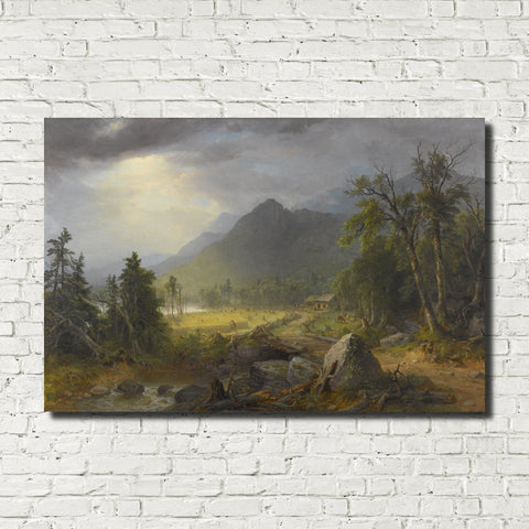 Asher Brown Durand, American Fine Art Print : First Harvest