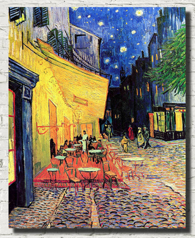 Vincent Van Gogh Fine Art Print, Cafe Terrace on the Place du Forum, Arles