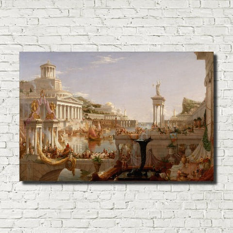 Thomas Cole, Old Masters Fine Art Print, The Consummation