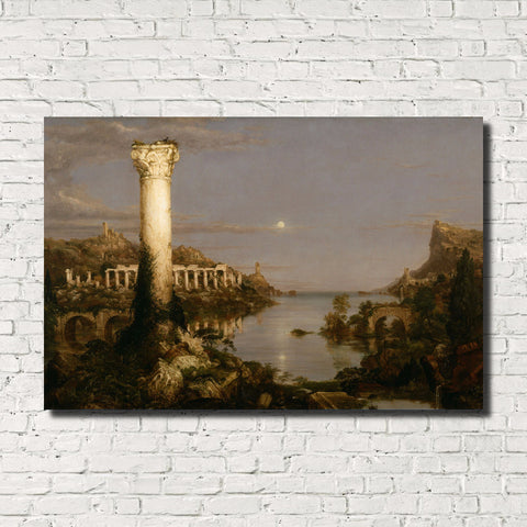 Thomas Cole, Old Masters Fine Art Print, Desolation