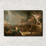Thomas Cole, Old Masters Fine Art Print : The Consummation, The Course of the Empire 1836 American Classical Art